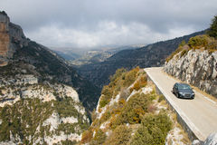 Driving in Provence Royalty Free Stock Image