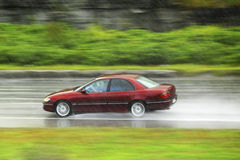 Driving at rain Stock Photos