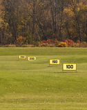 Driving range Stock Photos