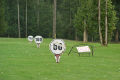 Driving Range Royalty Free Stock Photos