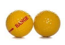 Driving range golf ball Stock Image
