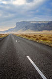 Driving Ring road Iceland Royalty Free Stock Images