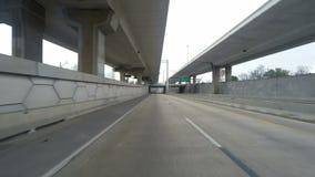 Driving through San Antonio stock video footage