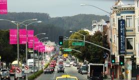 Streets of San Francisco, California stock photos