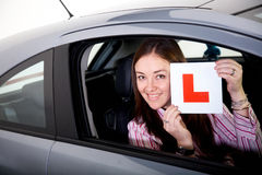 Driving school Royalty Free Stock Photo