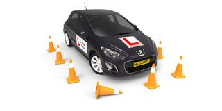 Driving school Stock Image