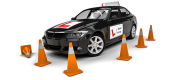 Driving school Stock Images
