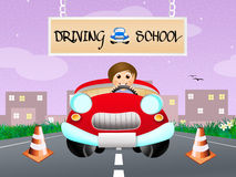 Driving school Royalty Free Stock Images