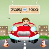 Driving school Royalty Free Stock Photo