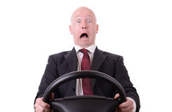 Driving shock Royalty Free Stock Images