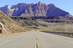 Driving in the Southwestern USA, America Stock Images