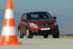 Driving Test Royalty Free Stock Images