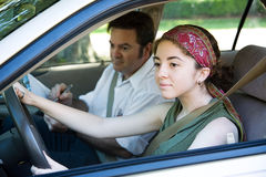 Driving Test Stock Image