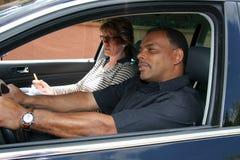 Driving test Stock Photos
