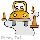 Driving Test Drawing Stock Images