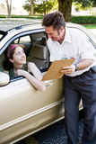 Driving Test - You Passed Stock Images