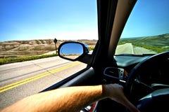 Driving Thru Summer Stock Photos