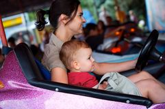 Driving together Royalty Free Stock Photos