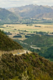 Driving towards Hanmer Springs, NZ Royalty Free Stock Photos