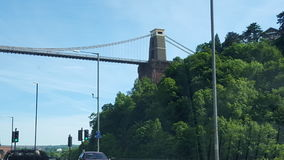 Bristol bridge Royalty Free Stock Images