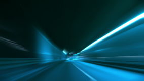 Driving through tunnel blur and glow. Driving through tunnel, abstract with motion blur and glow stock footage