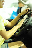 Driving woman Royalty Free Stock Photo