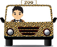 Driving Zoo Royalty Free Stock Photos