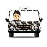 Driving Zoo Royalty Free Stock Photo