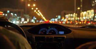 Drivingthru Fotos de archivo libres de regalías