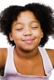 drömma flicka för härlig dag Royaltyfria Bilder