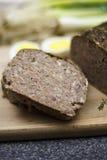 Drob - close up romeno do alimento da Páscoa Foto de Stock