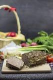Drob - piatto dell'agnello di Pasqua del rumeno Immagini Stock Libere da Diritti