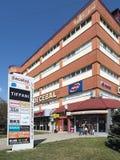 Decebal Shopping Mall in Drobeta-Turnu Severin, Romania stock photos