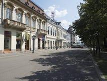 Theodor Costescu Street, Drobeta-Turnu Severin, Romania Stock Photos