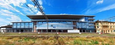 Drobeta turnu severin train station Royalty Free Stock Images