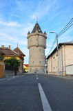 Drobeta turnu severin water tower Royalty Free Stock Image