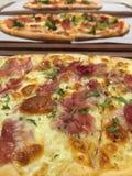 Drobina baleronu pizza obrazy stock