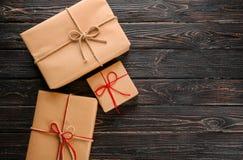 Drobnicowi prezentów pudełka Obraz Stock