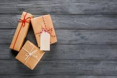 Drobnicowi prezentów pudełka Fotografia Royalty Free
