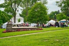 Drobnomiasteczkowy lato festiwal zdjęcie royalty free
