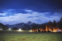 Drobollach Österrike Arkivfoto