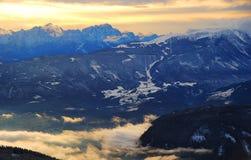 Drobollach, Autriche Photos libres de droits