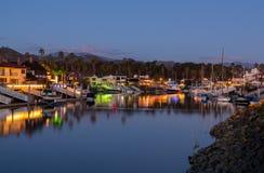 Drodzy domy Ventura i łodzie Obrazy Stock
