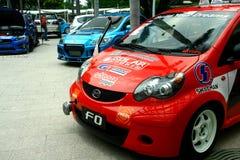 Drodzy i dostosowywający samochody wyścigowi i luksus Zdjęcia Stock