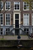 Droefheid in Amsterdam Royalty-vrije Stock Afbeelding