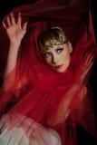 Droevig meisje. Het Theater van de balletdanser Royalty-vrije Stock Fotografie