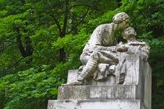 Droevig standbeeld Royalty-vrije Stock Foto