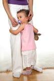 Droevige baby royalty-vrije stock afbeeldingen