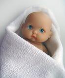 Droevige baby - pop Royalty-vrije Stock Afbeelding