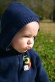 Droevige babyjongen Royalty-vrije Stock Afbeeldingen